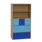 Boys Storage Bookcase