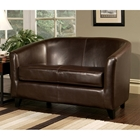 Frankfurt Leather Loveseat