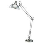 Atlas Floor Lamp in Satin Steel