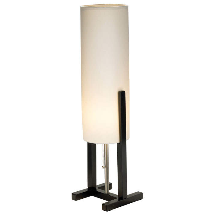 Bridges Table Lamp with H-Shaped Base