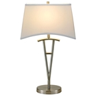 Taylor Table Lamp with White Shade