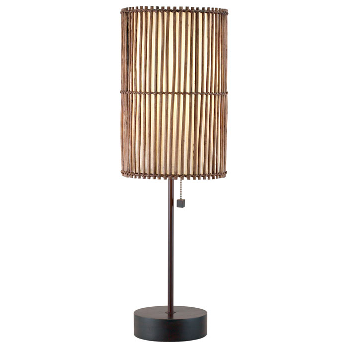 Maui Round Table Lamp