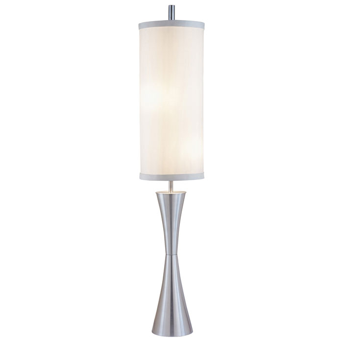 Geneva Floor Lamp in Anodized Aluminum
