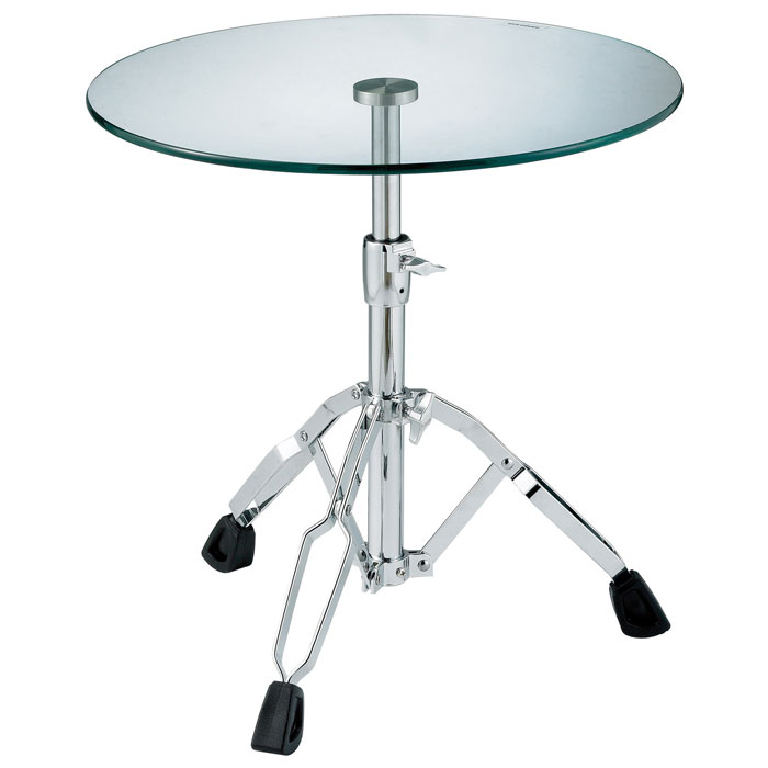 Jazz Adjustable Glass Table