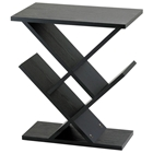 Zigzag Black Accent Table