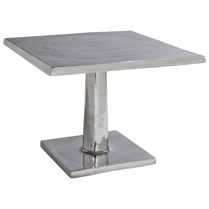 Surina Contemporary Bunching Table - Cast Aluminum, Square Top - ACD-21201-025