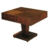 Sarasota Two Tone Occasional Table - Walnut, Square Top