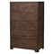 Savannah 5-Drawer Chest - Pecan - ALP-1100-05