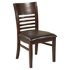 Granada Side Chair - Brown Merlot