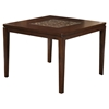 Granada Pub Table - Brown Merlot