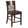 Granada Pub Chair - Brown Merlot