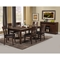 Granada Extension Dining Table - Brown Merlot, Butterfly Leaf - ALP-1437-01