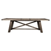 Newberry Dining Table - Salvaged Gray, Extension