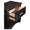 Madison 2-Drawer Nightstand - Dark Espresso - ALP-1688-02