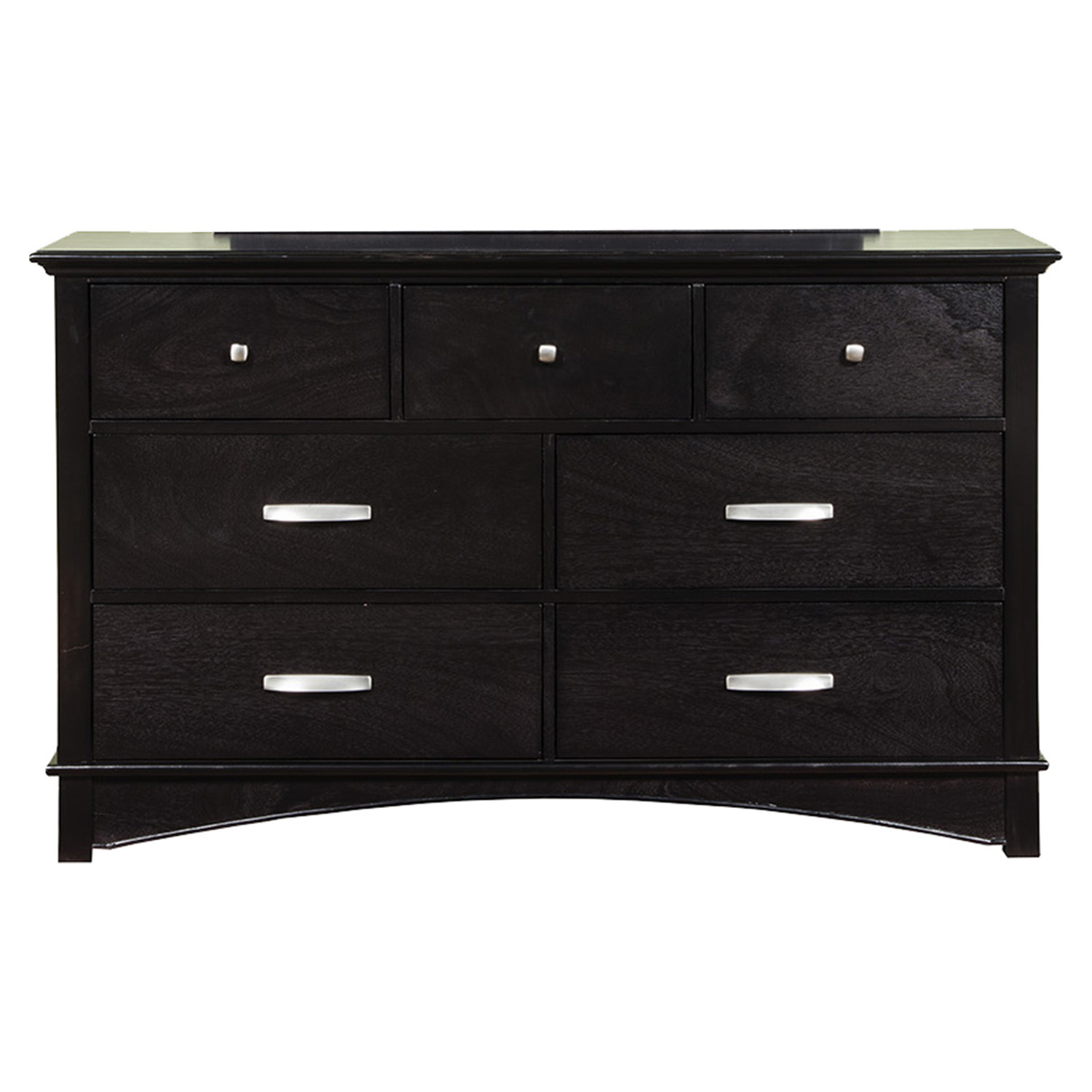 Madison 7-Drawer Dresser - Dark Espresso