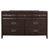 Legacy 7-Drawer Dresser - Black Cherry