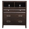 Legacy 3-Drawer Media Chest - Black Cherry