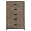 Camilla 5-Drawer Chest - Antique Gray