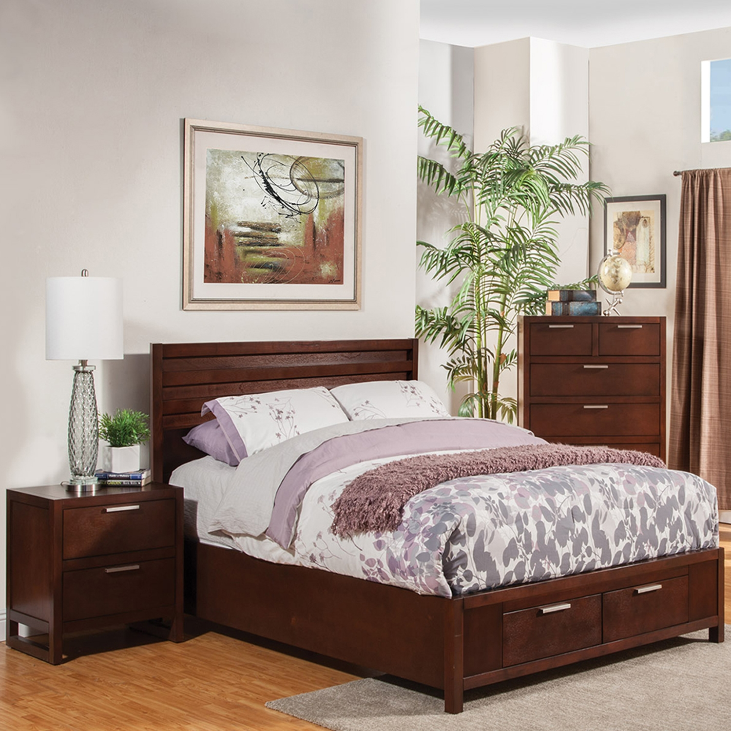 Urban Bedroom Set - Merlot