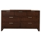 Urban 7-Drawer Dresser - Merlot - ALP-1888-03
