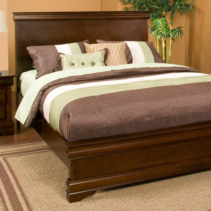 Chesapeake Panel Bed in Cappuccino