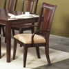 Saratoga Dark Walnut Arm Chair (Set of 2)