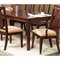Saratoga Dark Walnut 7 Piece Extension Dining Set - ALP-341-7PC-DINING-SET