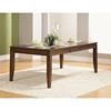 Albany Extension Dining Table - Dark Oak