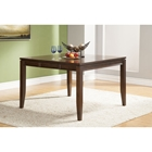 Albany Extension Counter Height Table - Dark Oak