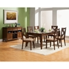 Albany 7-Piece Dining Set - Dark Oak