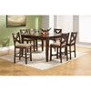 Albany 7-Piece Counter Set - Dark Oak