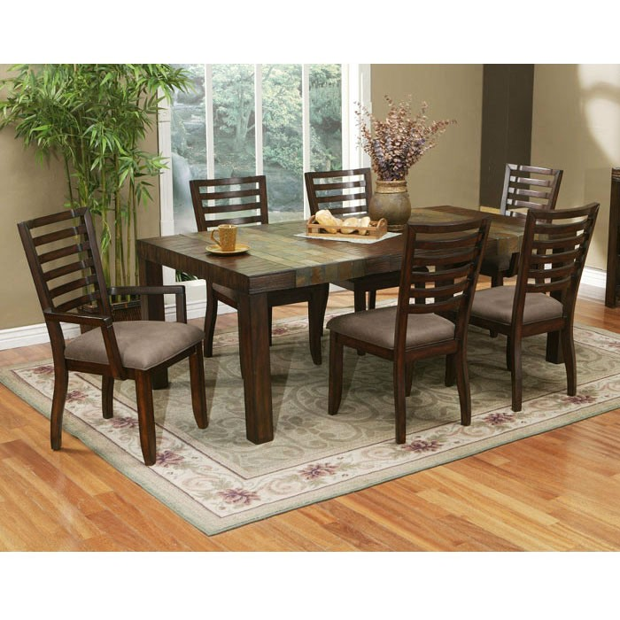Sedona 7-Piece Dining Set with Extension Table
