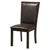 Davenport Side Chair - Espresso, Faux Leather