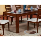 Turlock Rectangular Extension Dining Table with Butterfly Leaf