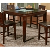 Lakeport Counter Height Table with Glass Insert