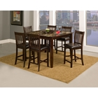 Capitola 5-Piece Pub Set in Espresso