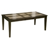 Piedmont Dining Table - Dark Walnut, Tile Top, Butterfly Leaf
