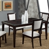 Midtown Glass Dining Table - Espresso