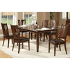 Bradbury 7-Piece Extension Dining Set in Cappuccino