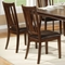 Bradbury 7-Piece Extension Dining Set in Cappuccino - ALP-637-7PC-DINING-SET