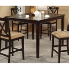 Jackson Dark Cherry Extension Pub Table with Butterfly Leaf