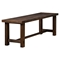 Pierre Bench - Antique Cappuccino - ALP-8104-03