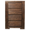 Pierre 4-Drawer Chest - Antique Cappuccino