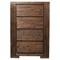 Pierre 4-Drawer Chest - Antique Cappuccino - ALP-8104-25