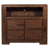 Pierre Media Chest - Antique Cappuccino