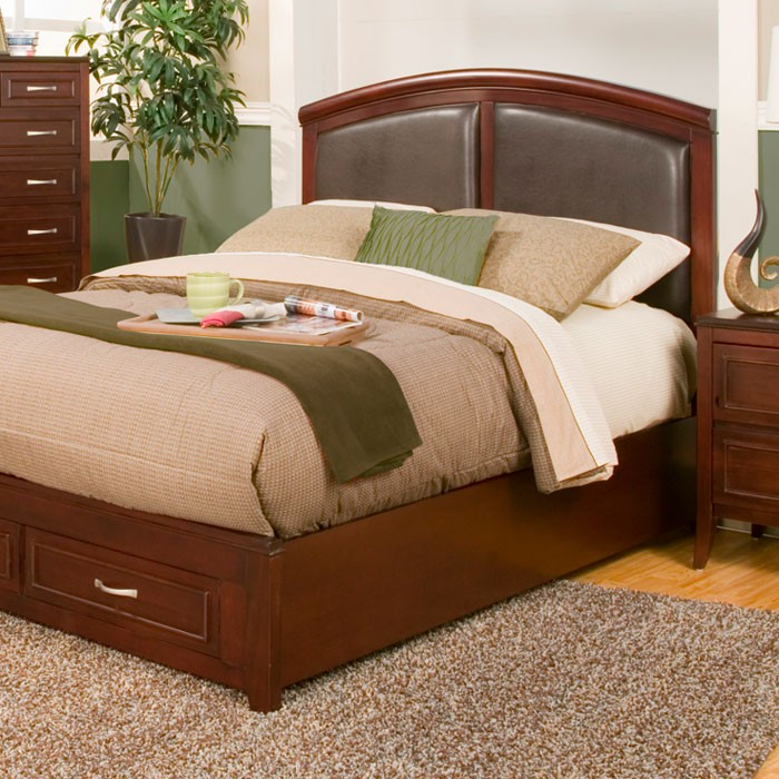 Atherton Storage Bed with Panel Headboard