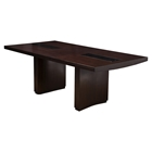St Martin Dining Table - Removable Leaf, Espresso