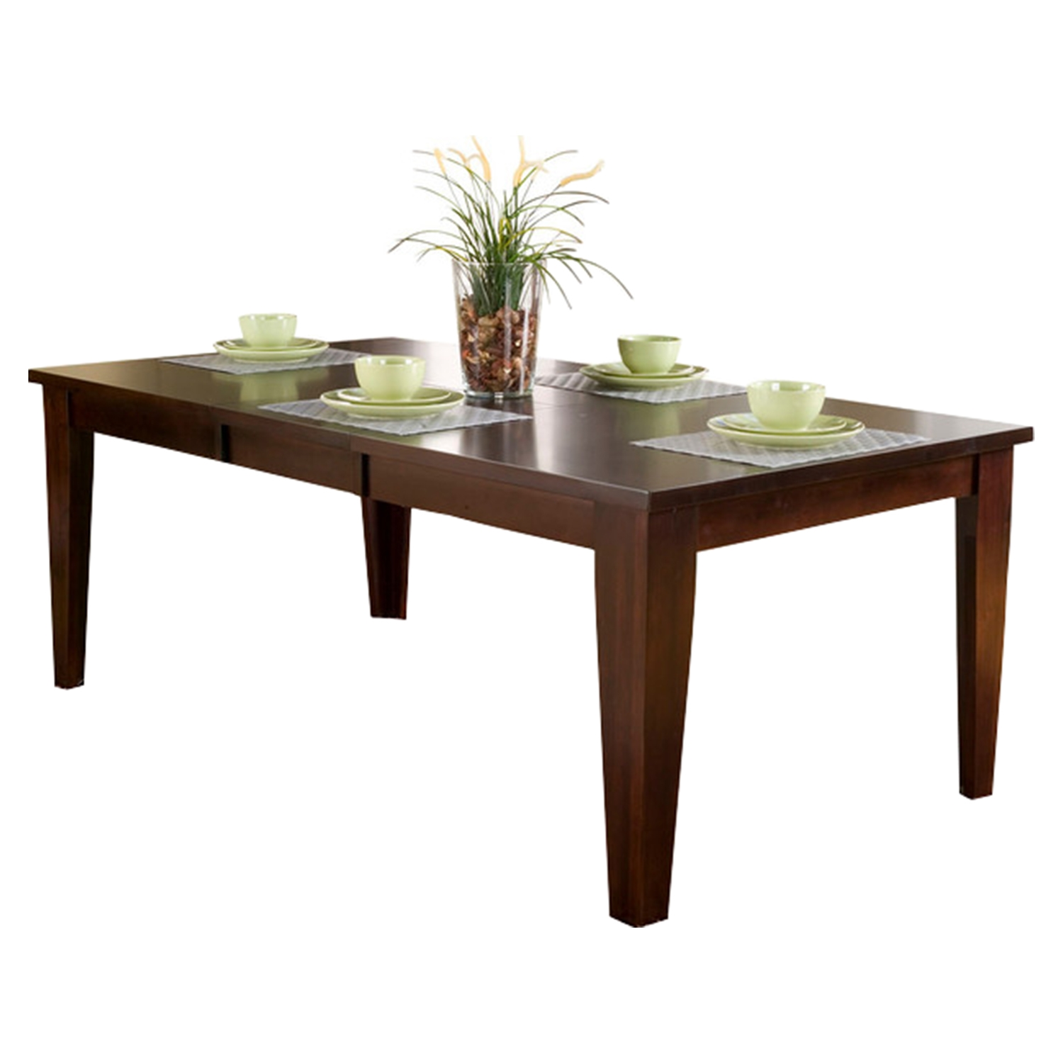 Havenhurst Extension Dining Table - Merlot, Butterfly Leaf - ALP-8932-01