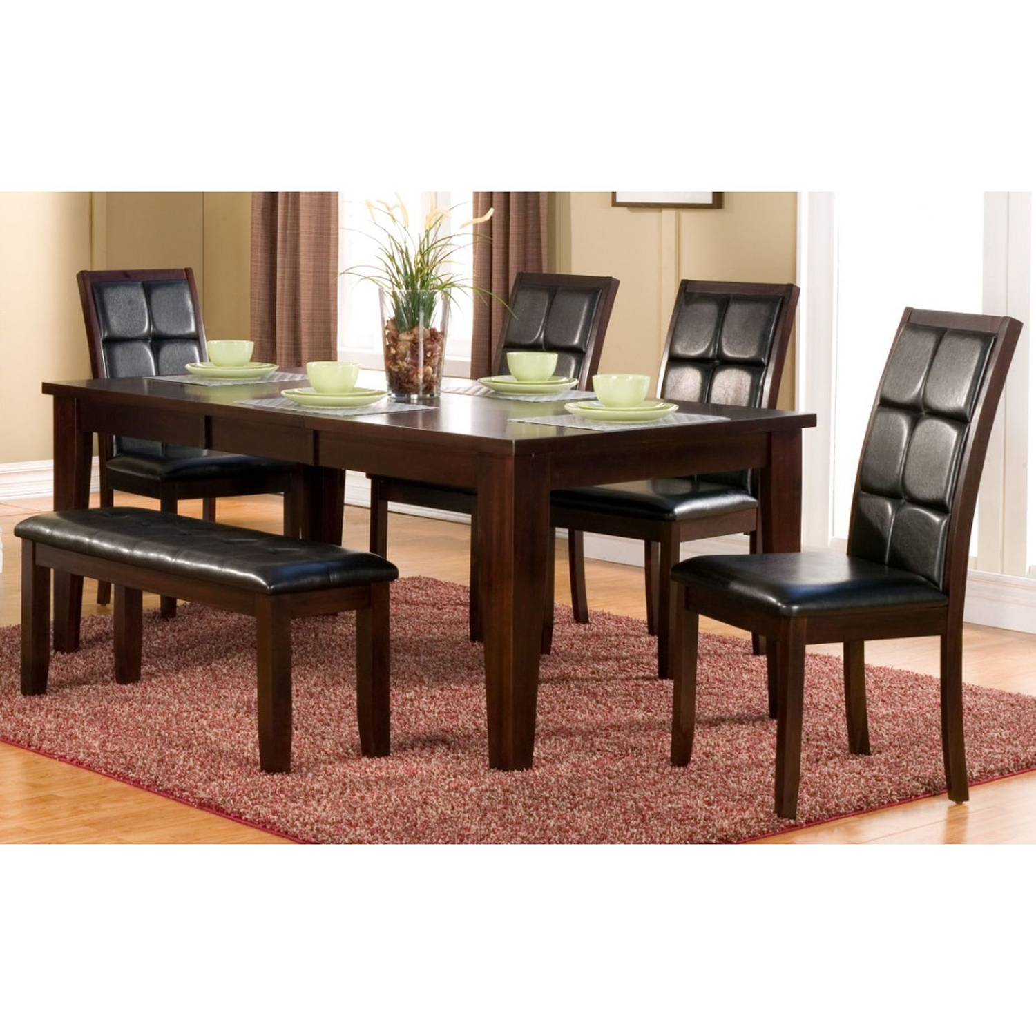 Havenhurst 6-Piece Dining Set - Merlot