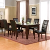 Havenhurst 7-Piece Dining Set - Merlot